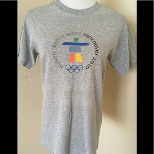 T shirt Graphic Vancouver Olympics 2010 vintage